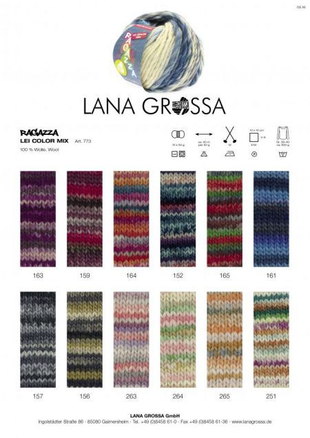 Lana Grossa Lei Color Mix