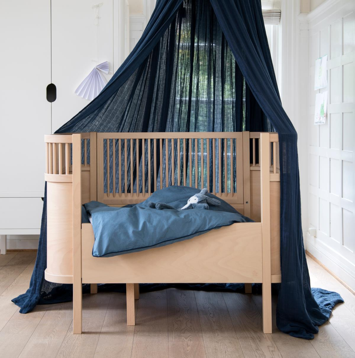 sebra baldachin himmel f r kinderbett ella ella back. Black Bedroom Furniture Sets. Home Design Ideas