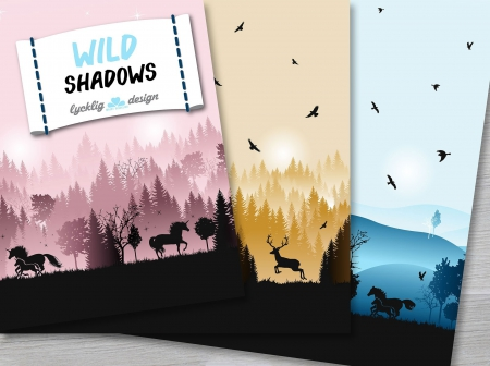 Sweat Wild Shadows by lycklig design